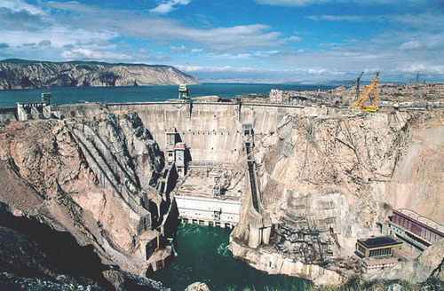 China's fourth largest hydropower station Nuozhadu Hydropower Station