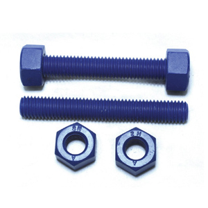 A193 B7 A194 2H Stud Bolt & Nut, Fluoropolymer Coated