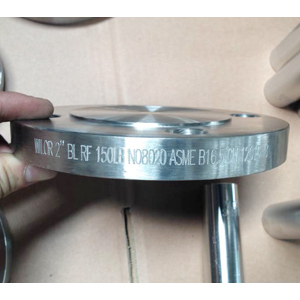 ASTM B462 UNS N08020 Blind Flange, 2In, CL150, RF