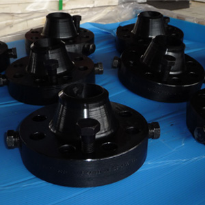 Black Weld Neck Orifice Flange, 300#, 2 Inch, SCH 80