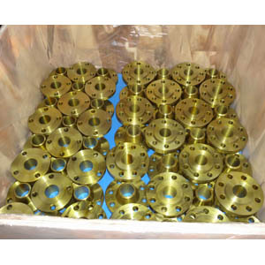 ASTM A105 WN Flange, Golden Painting, Sch STD