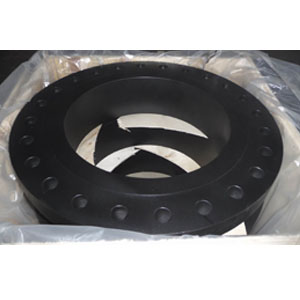 Black Welding Neck Flange, ANSI B16.5, 300 LB