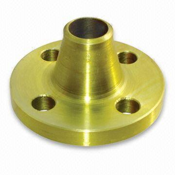 Yellow Golden Painting Weld Neck Flanges