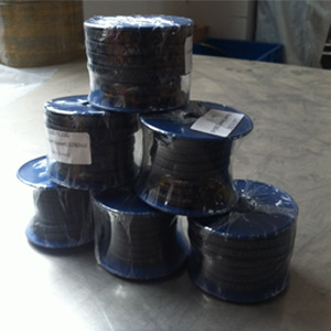 Carbonized Fiber Gland Packing, 6.4MM X 3.63M