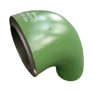 12Cr1MoVG Elbow, 90 Degree, SH3408, Green Painted
