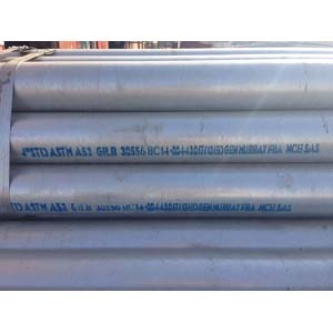 ASTM A153 Gr B Galvanized Pipe, SCH STD, 6 Inch, BE