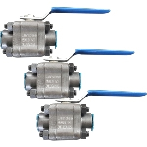 3-PC Reduced Bore Ball Valve, Screwed End, DN20