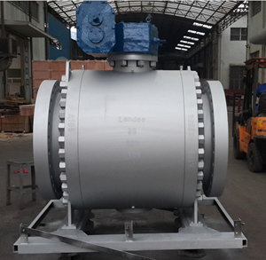API 6D Forged Steel A105 Ball Valve, 600LB, RF, 30 Inch