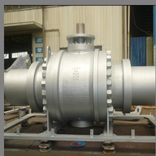 API 6D Trunnion Mounted Ball Valves, ASTM A216 WCB