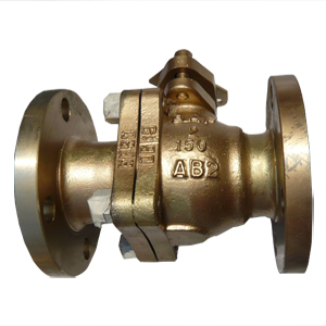 Bronze Floating Ball Valve, 2 Inch, 150 LB, RF