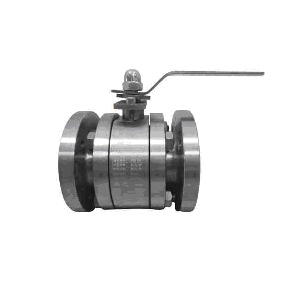 Floating Ceramic Ball Valve, ASTM A182 F304, DN65