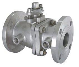 Jacket Ball Valve, Flanged Ends, ASTM A216 WCB, 2 Inch