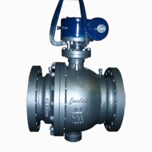 Trunnion Ball Valve, ASTM A216 WCB, 300#, 10 Inch, RF