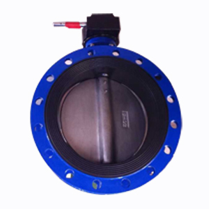 Double Flanged Butterfly Valve, 14In, 150 LB, DI