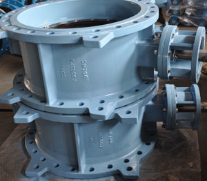 GJS500.7 Butterfly Valve, Double Eccentric, DN700