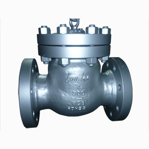 BS 1868 Swing Check Valve, ASTM A216 WCB, 4 Inch 300 RF