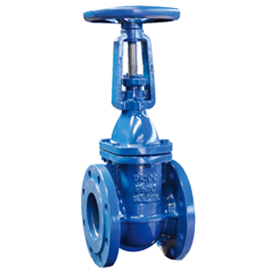 China DIN 3352 F4 Rising Stem Solid Wedge Gate Valves