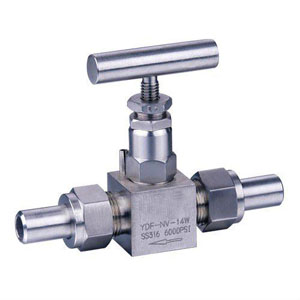 BS 5352 A182 F316 Needle Valve, 6000PSI, 1/2 Inch