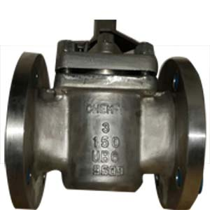 Non-Lubricated Plug Valve, 3 Inch, CL150, UB6, RF